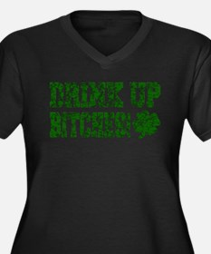 drink up bitches worn Plus Size T-Shirt