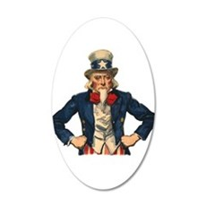 Uncle Sam Wall Decal