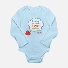 Lucky To Have Two Daddies Infant Body Suit
