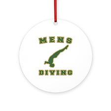 Mens Diving Ceramic Ornament