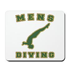 Mens Diving Mousepad
