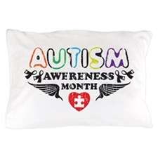 Autism awereness month Pillow Case