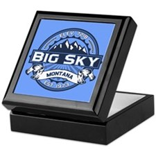 Big Sky Blue Keepsake Box