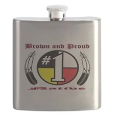 BROWN-N-PROUD Native Flask