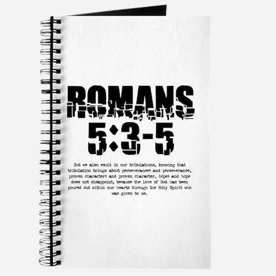 Romans 5:3-5 Journal