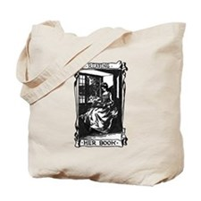 Reading Her Book Tote Bag
