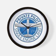 Aviation Private Pilot Wall Clock