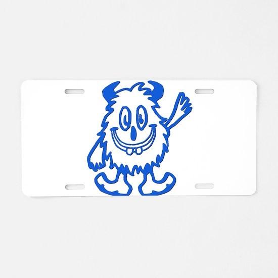 BUCKTOOTHMONSTER Aluminum License Plate
