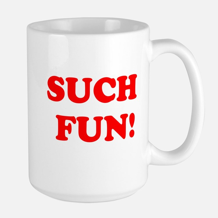 Such Fun! Large Mug
