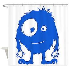 BIGEYEMONSTER Shower Curtain