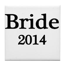 Bride 2014 Tile Coaster