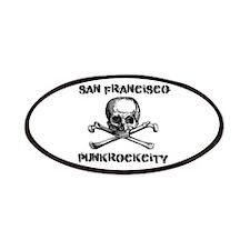 SFPunkrockcity Skull Design Patches