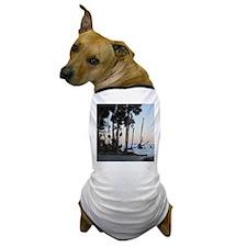 Tropical Beach - Hunting Island, SC Dog T-Shirt