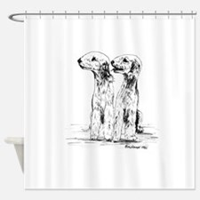Bedlington Terrier Shower Curtain