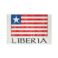 Liberia Flag Rectangle Magnet
