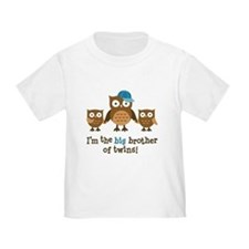 Big Brother of Twins - Mod Owl T-Shirt