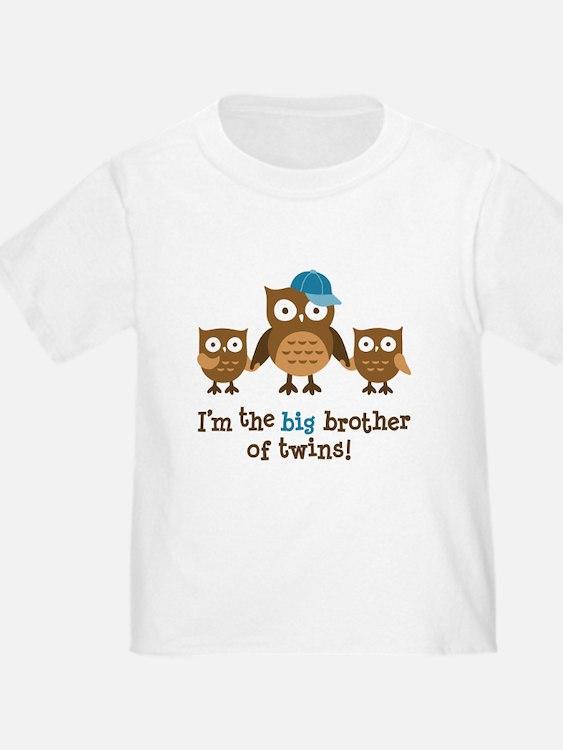 Big Brother of Twins - Mod Owl T-Shirt