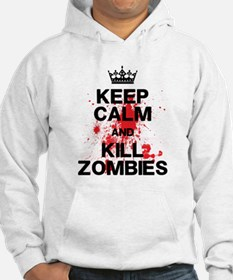 Keep Calm Kill Zombies Hoodie