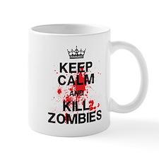 Keep Calm Kill Zombies Mug