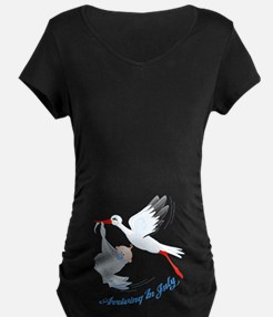 Arriving in July Maternity T-Shirt
