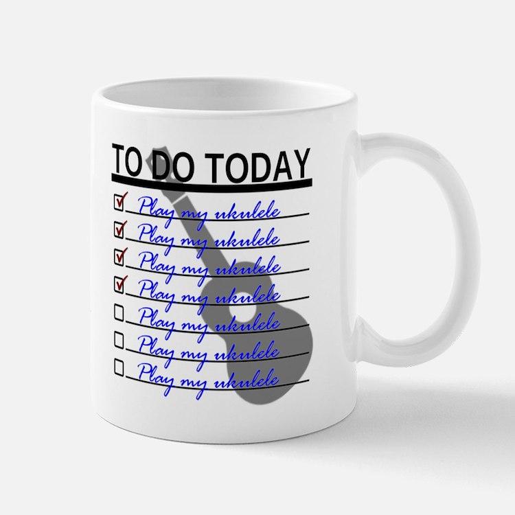 To Do Today - Play Ukulele Mug