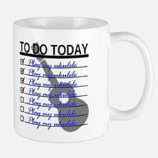 To Do Today - Play Ukulele Small Small Mug