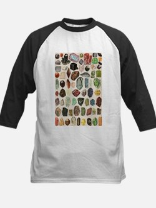 Vintage Geology Rocks Gemstones Baseball Jersey