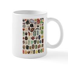 Vintage Geology Rocks Gemstones Mug