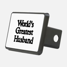 Worlds Greatest Husband Hitch Cover