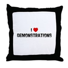 I * Demonstrations Throw Pillow
