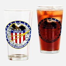 Apollo 16 Drinking Glass