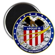 Apollo 16 Magnet