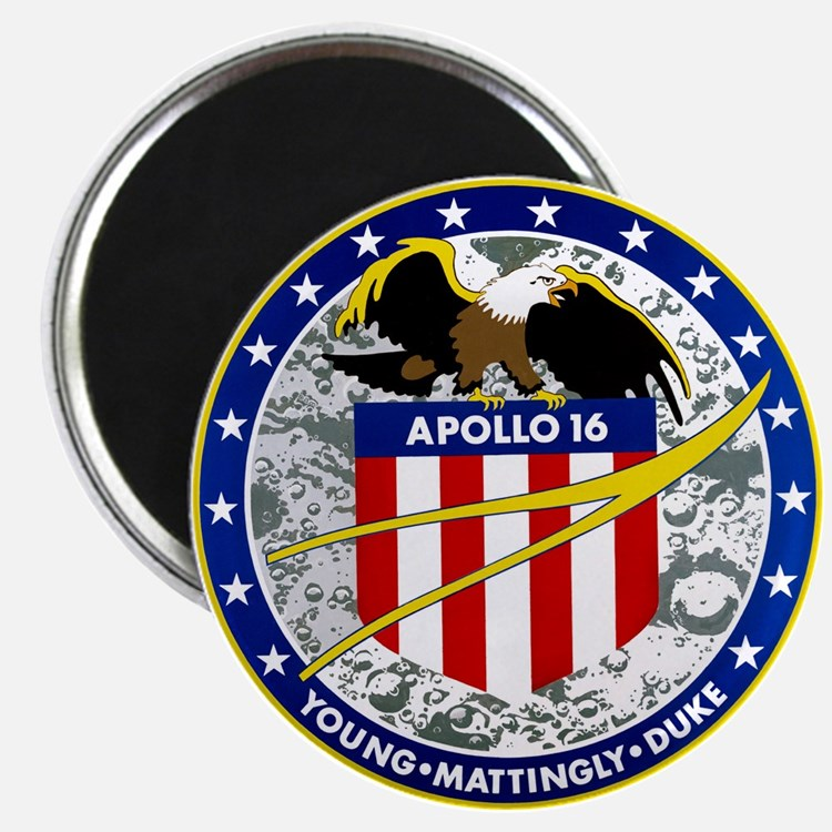 Apollo 16 Magnet