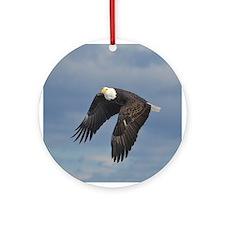 Bald Eagle Ornament (Round)