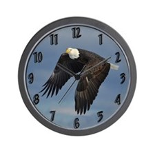 Bald Eagle Wall Clock