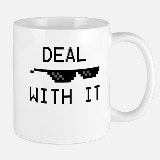 DEAL WITH IT Mug