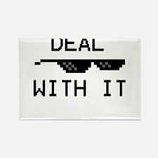 DEAL WITH IT Rectangle Magnet