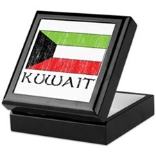 Kuwait Flag Keepsake Box