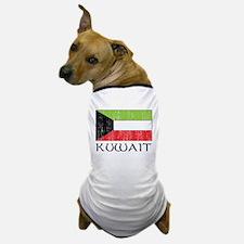 Kuwait Flag Dog T-Shirt