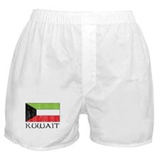 Kuwait Flag Boxer Shorts