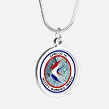 Apollo 15 Silver Round Necklace