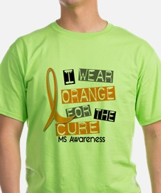 I Wear Orange 37 MS T-Shirt