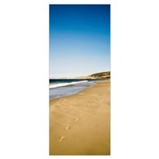 Footprints, Santa Rosa Island, Channel Islands Nat Poster