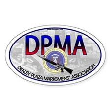 DEALEY PLAZA MARKSMENS' ASSOC. - Oval Decal