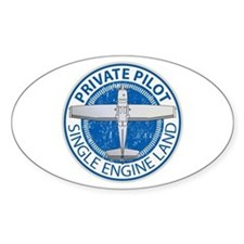 Aviation Private Pilot Decal