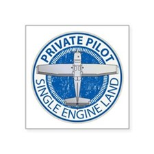 Aviation Private Pilot Sticker