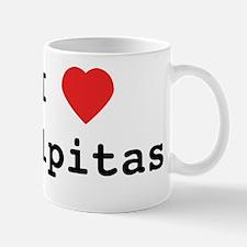 I Love Milpitas Mug - small