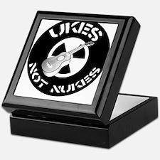 Ukes Not Nukes Keepsake Box