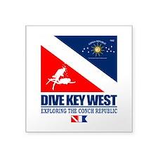 Dive Key West Sticker