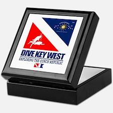 Dive Key West Keepsake Box